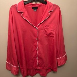 Natori Pink Cotton Pajama Set